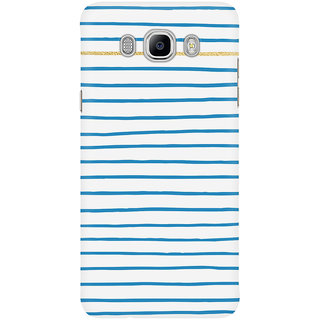 Dreambolic Stripe Pattern With Gold Mobile Back Cover