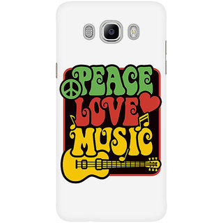 Dreambolic Peace, Love, Music In Rasta Colors Mobile Back Cover