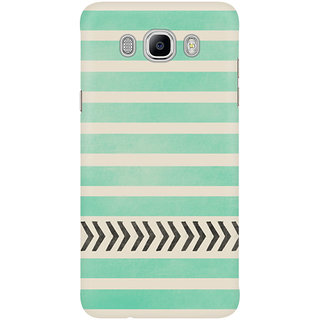 Dreambolic Mint Stripes And Arrows Mobile Back Cover
