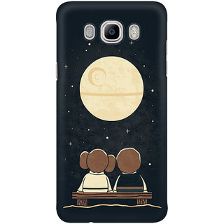 Dreambolic Moon Gazing Mobile Back Cover