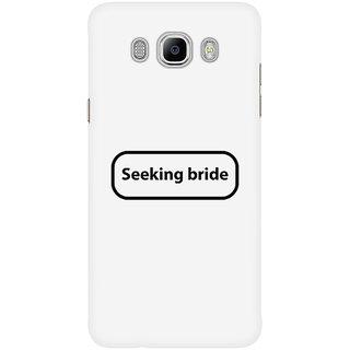 Dreambolic Seeking Bride Mobile Back Cover