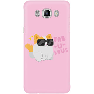 Dreambolic Fabulous Kitty Graphic Mobile Back Cover