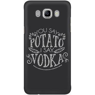 Dreambolic You Say Potato  I Say Vodka Graphic Mobile Back Cover