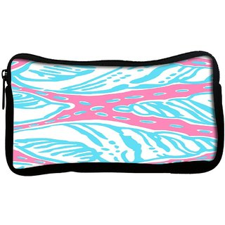 Snoogg  Ice Cream FunPoly Canvas Multi Utility Travel Pouch