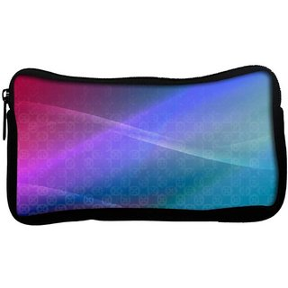 Snoogg Abstract Multiolor Wall Poly Canvas  Multi Utility Travel Pouch