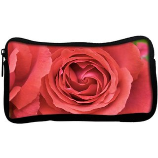 Snoogg Red Roses Poly Canvas  Multi Utility Travel Pouch