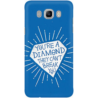 Dreambolic You Are A Diamond They Can Not Break You Mobile Back Cover