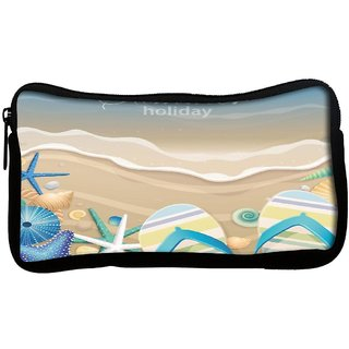 Snoogg  Summer HolidayPoly Canvas Multi Utility Travel Pouch