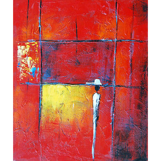 Vitalwalls - Abstract Painting  - Art Print on Imported White Polypapier.