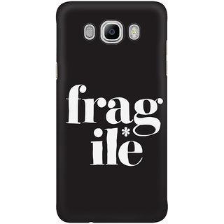 Dreambolic Fragile Graphic Mobile Back Cover