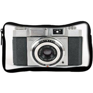Snoogg CAMERA PICTURE Poly Canvas Multi Utility Travel Pouch