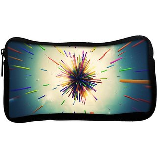 Snoogg Abstract Amazed Design Poly Canvas  Multi Utility Travel Pouch