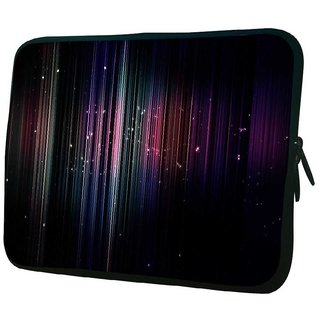 Snoogg Stars At Nite 10.2 Inch Soft Laptop Sleeve