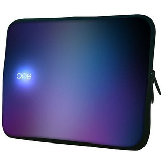 Snoogg One 10.2 Inch Soft Laptop Sleeve