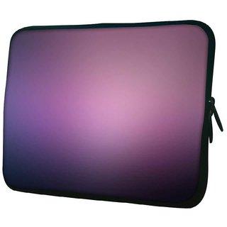 Snoogg Lite Purple Pattern Design 10.2 Inch Soft Laptop Sleeve