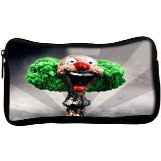 Snoogg  Blast Joker Poly Canvas Multi Utility Travel Pouch