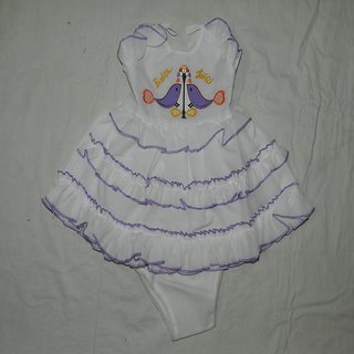 Beautiful Frilled Frocks For Baby Girl.