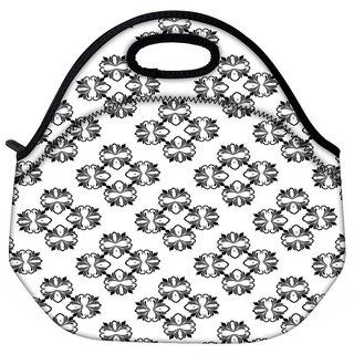 Snoogg Four Layer Connected Travel Outdoor CTote Lunch Bag