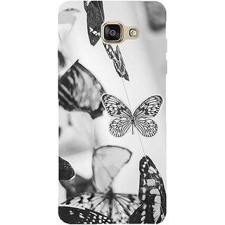 Casotec Butterflies Design 3D Printed Back Case Cover for Samsung Galaxy A5 (2016)