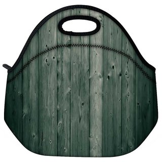 Snoogg Wood Boards Travel Outdoor Tote Lunch Bag