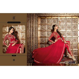 Georgeous Stylish party Anarkali-Gown zari work