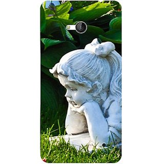 Casotec Girl Design 3D Printed Back Case Cover for Microsoft Lumia 640