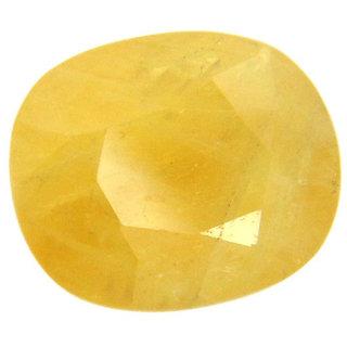 6.25 Ratti Guru Ratna Pukhraj Yellow Sapphire Certified Gemstone