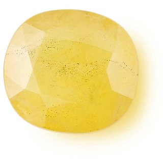 4.25 Ratti Natural Pukhraj Yellow Sapphire Certified Gemstone