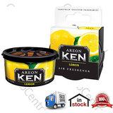 Original New Areon Ken Car, Home, Office Air Freshener - Lemon