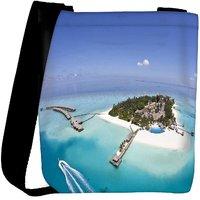 Snoogg Unique Island Designer Womens Carry Around Cross Body Tote Handbag Sling Bags RPC-9383-SLTOBAG