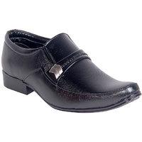 Panahi Men'S Black Leather Formal Shoes