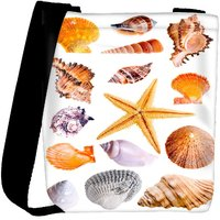 Snoogg 14 Mussels And Star Fish Studio Isolated On White Designer Protective Back Case Cover For Oneplus 3 Designer Womens Carry Around Cross Body Tote Handbag Sling Bags RPC-3709-SLTOBAG