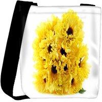 Snoogg Floral Background Designer Womens Carry Around Cross Body Tote Handbag Sling Bags RPC-4433-SLTOBAG
