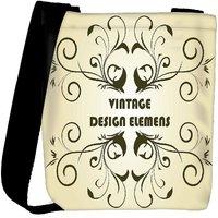 Snoogg Floral Background Designer Womens Carry Around Cross Body Tote Handbag Sling Bags RPC-4435-SLTOBAG