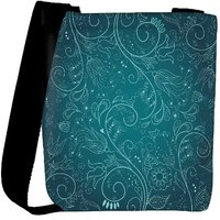Snoogg Floral Hand Drawn Background Designer Protective Back Case Cover For Oneplus 3 Designer Womens Carry Around Cross Body Tote Handbag Sling Bags RPC-4441-SLTOBAG