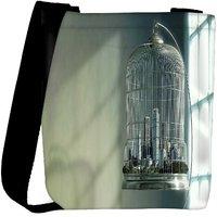 Snoogg City In A Cage Designer Womens Carry Around Cross Body Tote Handbag Sling Bags RPC-9554-SLTOBAG