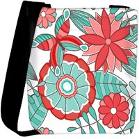 Snoogg Abstract Floral Background Designer Protective Back Case Cover For Oneplus 3 Designer Womens Carry Around Cross Body Tote Handbag Sling Bags RPC-3740-SLTOBAG