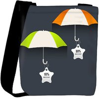 Snoogg Abstract Rainy Season Background Designer Protective Back Case Cover For Oneplus 3 Designer Womens Carry Around Cross Body Tote Handbag Sling Bags RPC-3786-SLTOBAG