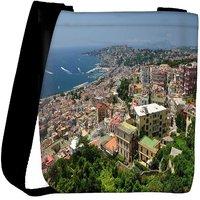 Snoogg City From The Top Designer Womens Carry Around Cross Body Tote Handbag Sling Bags RPC-9109-SLTOBAG