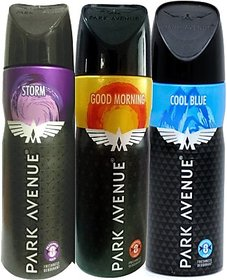 Park Avenue Combo Set (Set of 3) Storm Good morning Cool blue