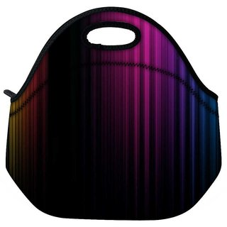 Snoogg Spectrum Of Light Travel Outdoor Tote Lunch Bag