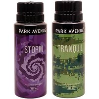 Park Avenue Park Avenue Storm, Tranquil Pack of 2 Deodorants Combo Set (set of 2)