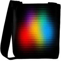 Snoogg Black Background Designer Womens Carry Around Cross Body Tote Handbag Sling Bags RPC-7481-SLTOBAG