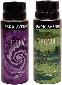 Park Avenue Park Avenue Storm, Tranquil Pack of 2 Deodorants Combo Set (set of 2)