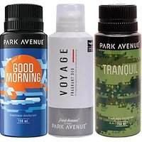 Park Avenue Combo Set Good Morning, Voyage, Tranquil(Set of 3)