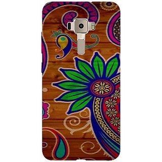 Casotec Pattern Texture Colorful Background Design 3D Printed Back Case Cover for Asus Zenfone 3 ZE552KL