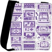 Snoogg Video Gamer'S Dream Designer Protective Back Case Cover For Oneplus 3 Designer Womens Carry Around Cross Body Tote Handbag Sling Bags RPC-319-SLTOBAG