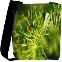 Snoogg Beatel In Leaf Designer Womens Carry Around Cross Body Tote Handbag Sling Bags RPC-8686-SLTOBAG