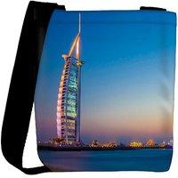 Snoogg Abstract Building Designer Womens Carry Around Cross Body Tote Handbag Sling Bags RPC-8123-SLTOBAG