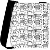 Snoogg Digit Bit Boy Pattern Designer Protective Back Case Cover For Oneplus 3 Designer Womens Carry Around Cross Body Tote Handbag Sling Bags RPC-3060-SLTOBAG